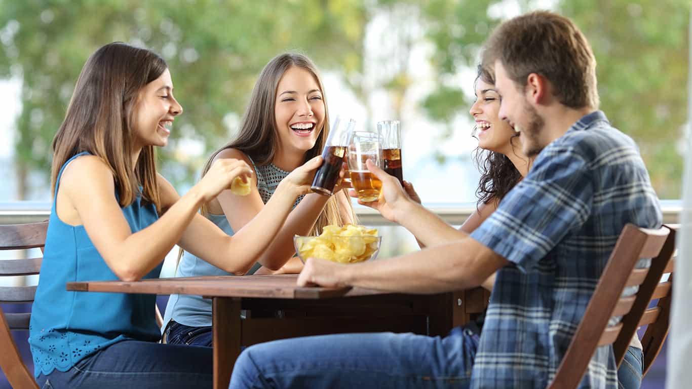 Replenish snacks and drinks