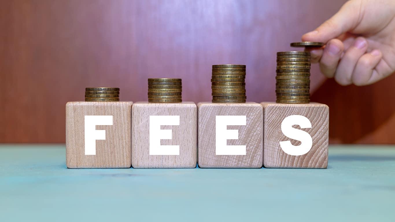 Upfront fees