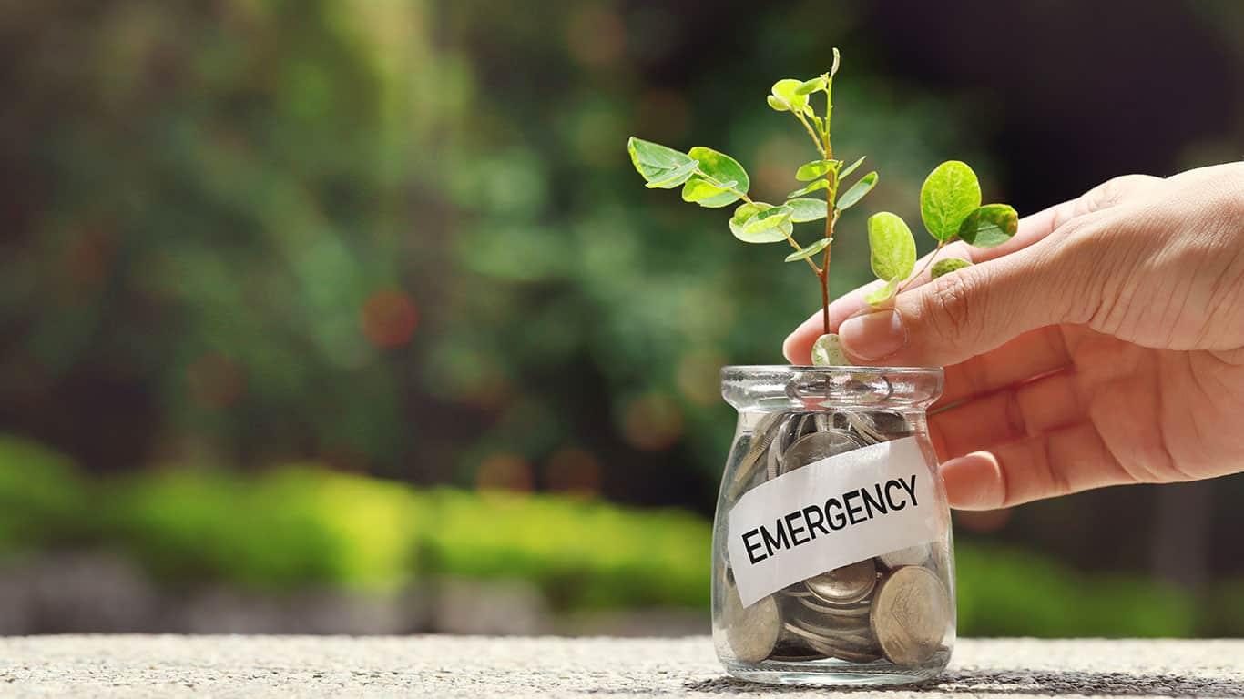 Bolster emergency savings