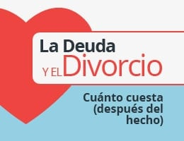 deuda y divorcio