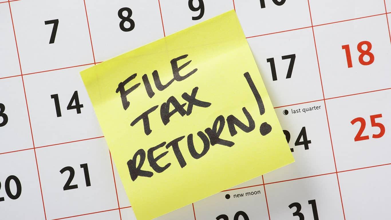 Failure to file back tax returns