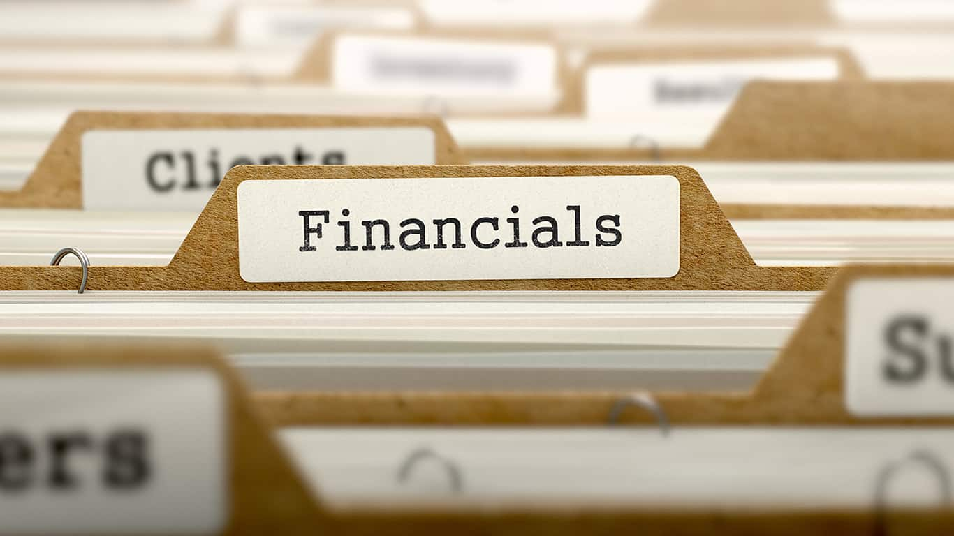Get your financial records in order