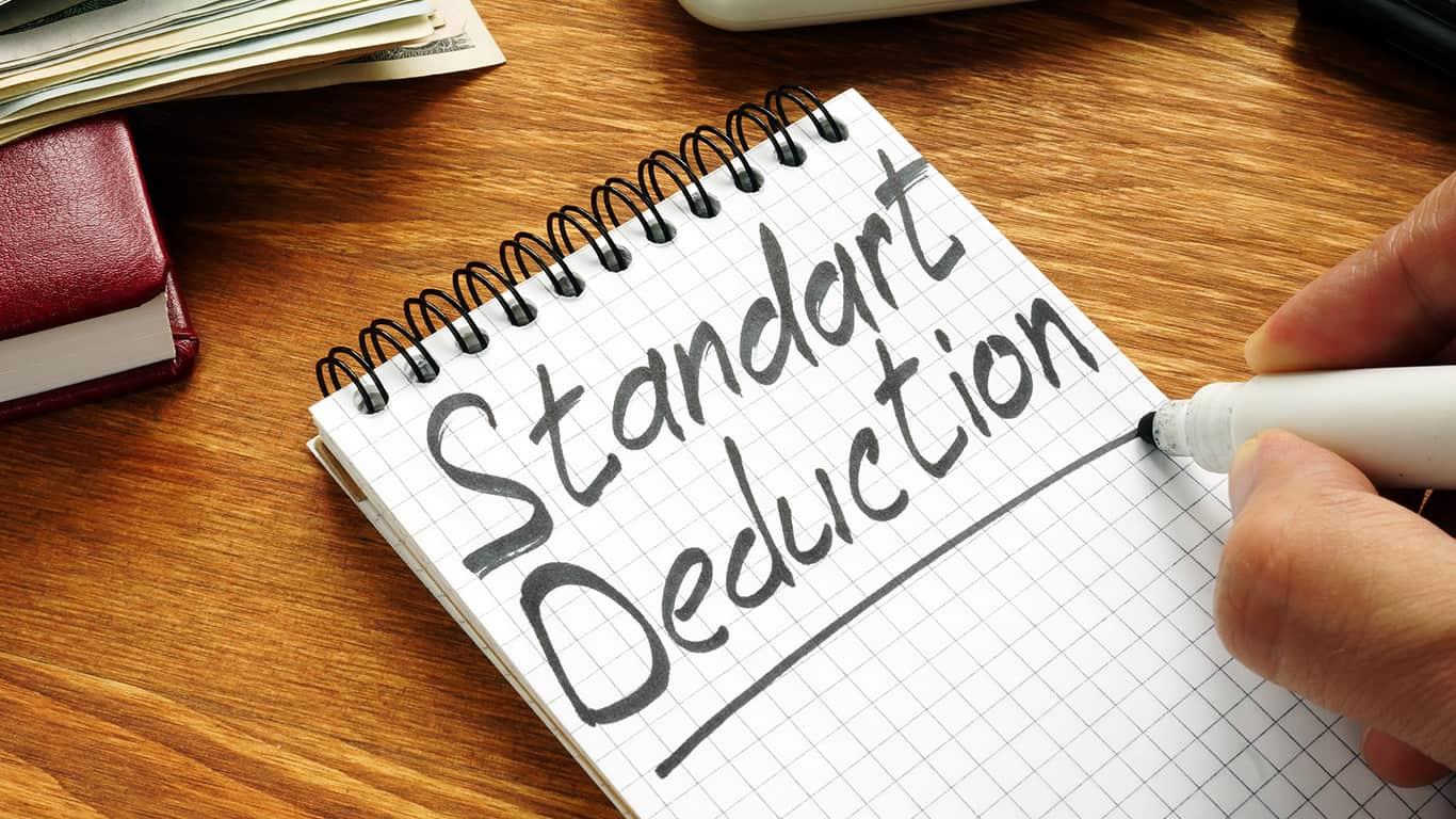 Higher Standard Deductions Amounts