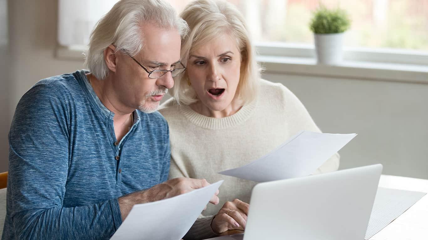IRS records indicate unfamiliar income