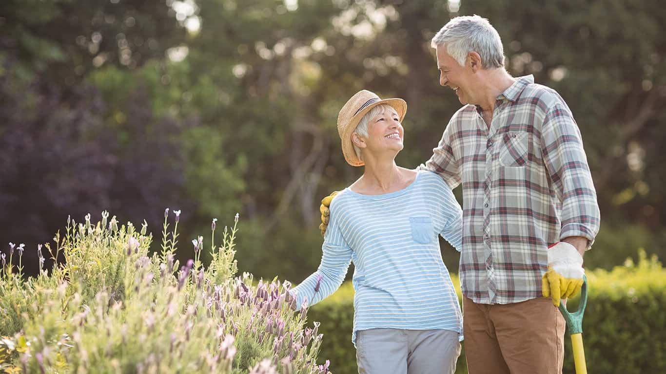 Happy senior couple Retirement