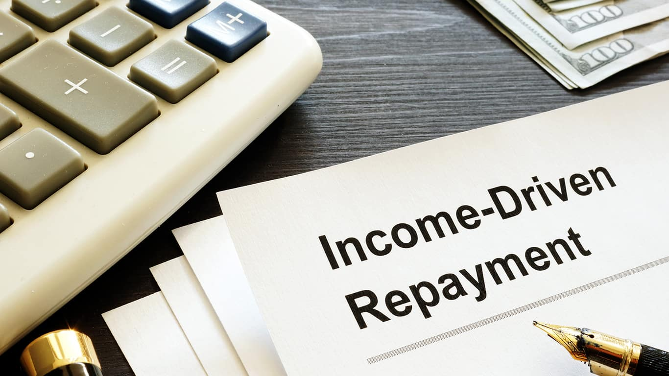 Apply for an income-driven repayment plan
