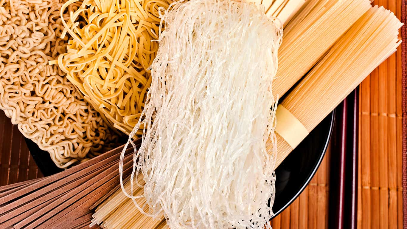 Cook a bunch of noodles