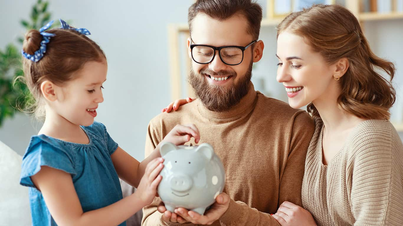 Develop a family budget and debt payment schedule