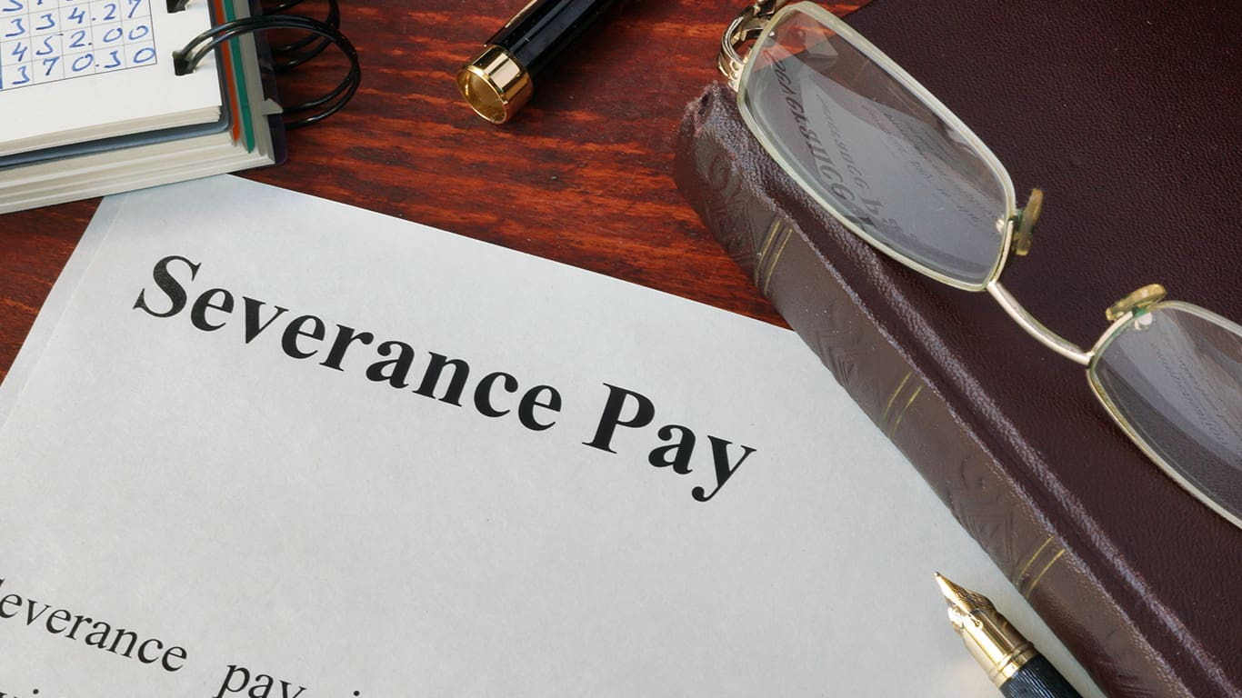 Don't assume receiving severance pay disqualifies you