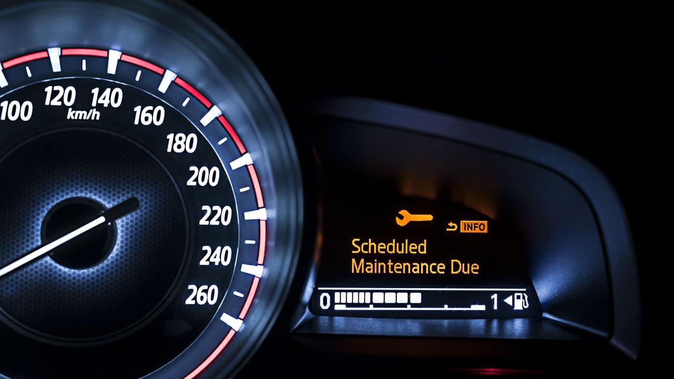 Follow maintenance schedules