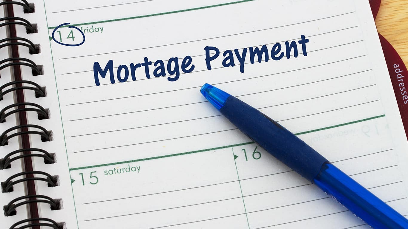 Make a lump sum mortgage payment