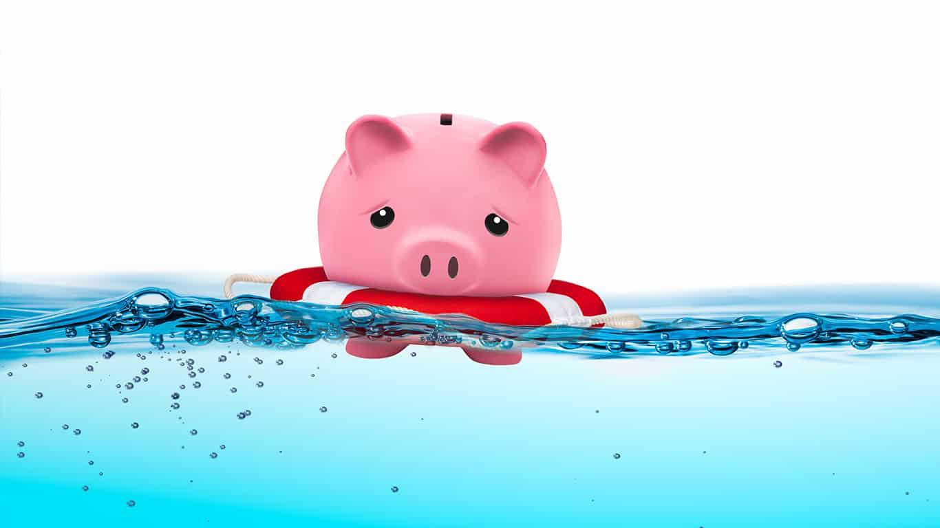 Open an emergency savings account