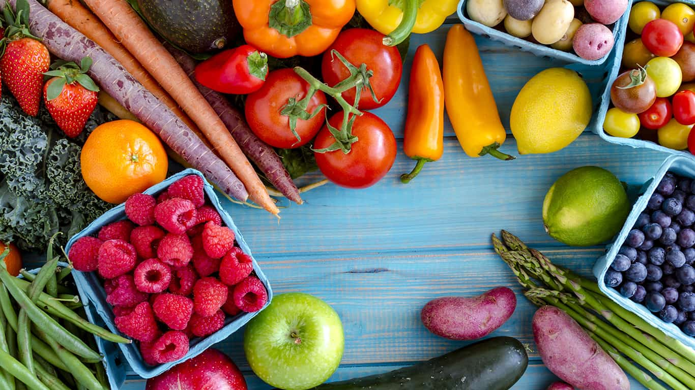 Pick fruit or veggies for a side