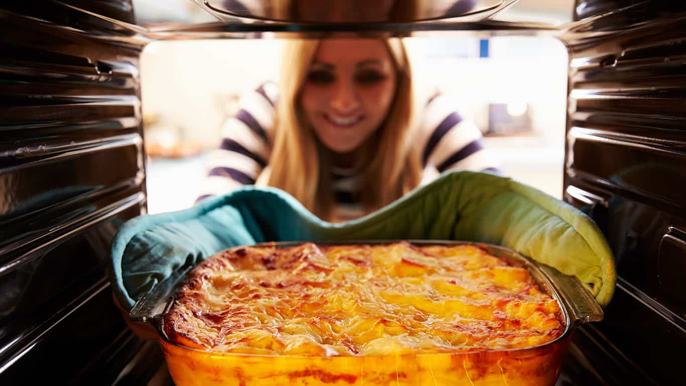 Preparing meals at home saves money