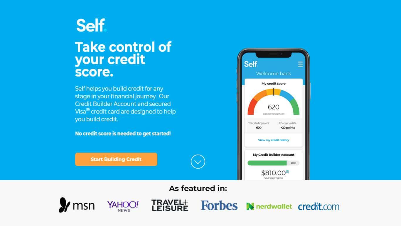 Self Credit Builder Accounts