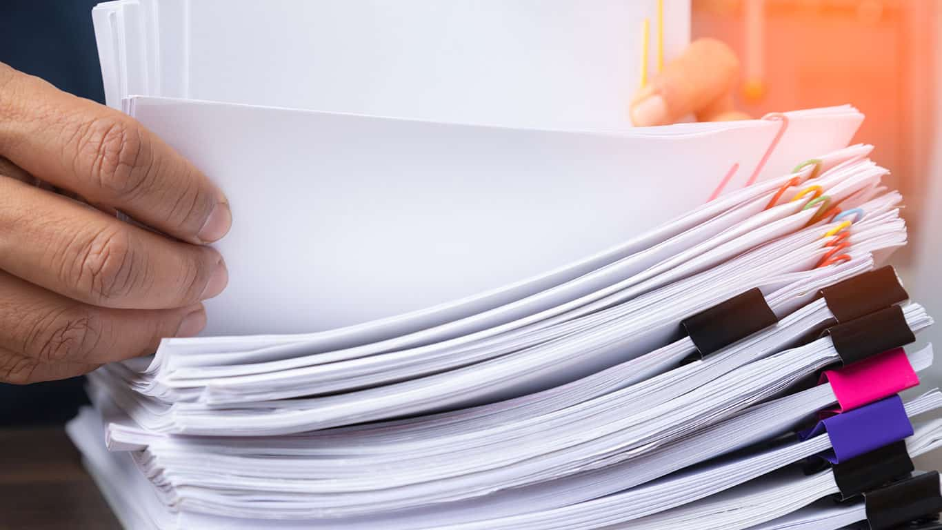 Organize relevant documents and information
