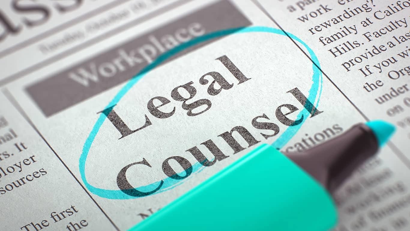 Seek legal counsel