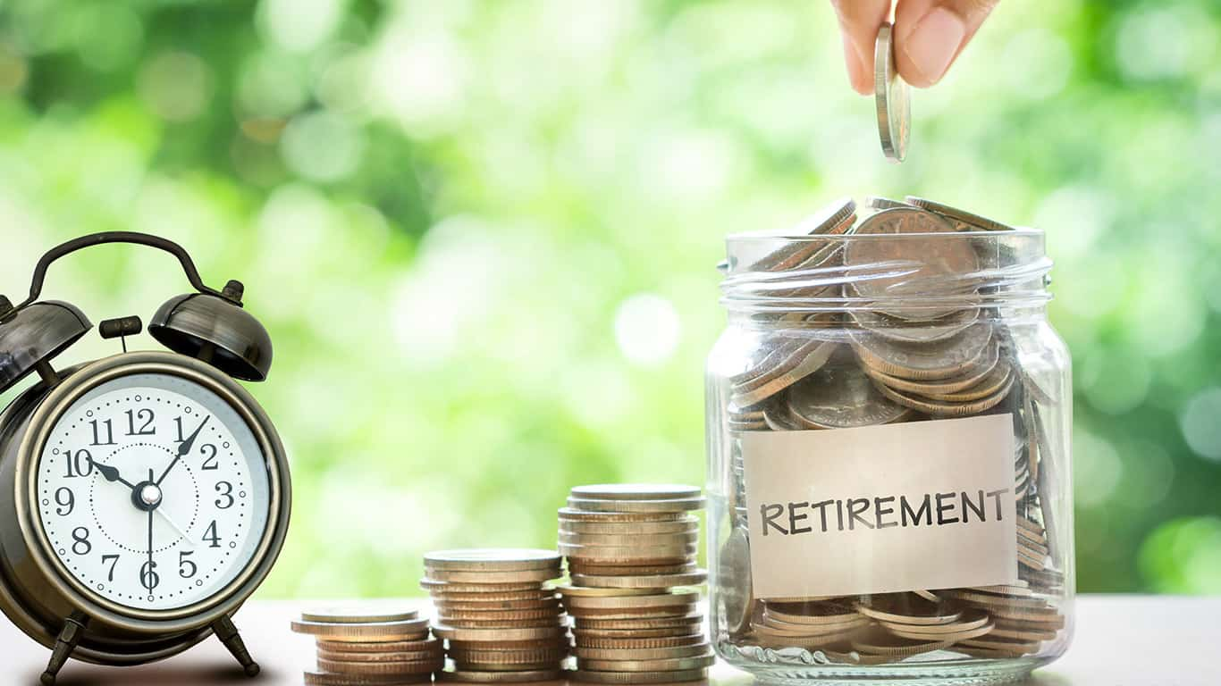 Shifts in retirement contributions