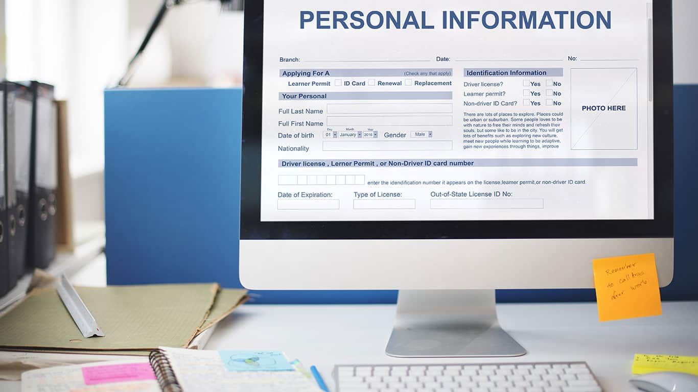 Pre-hiring requests for personal information
