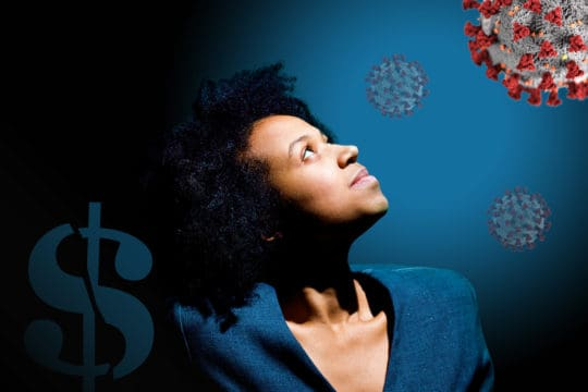 How COVID-19 financially impacts people of color.