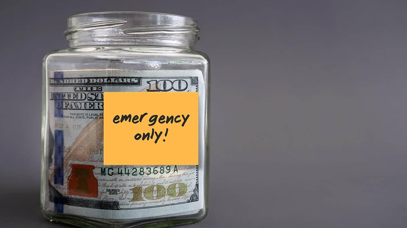 Waiting to build emergency savings