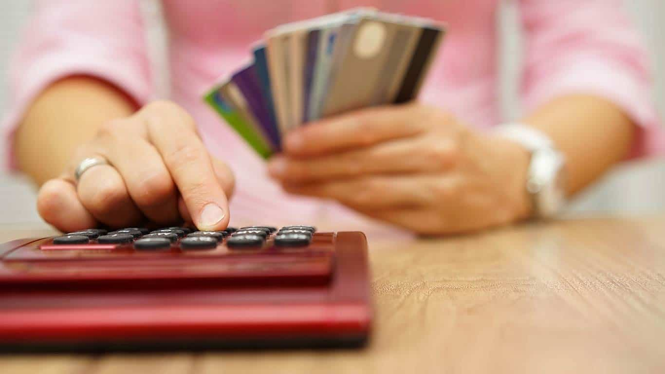 High amount of credit card debt