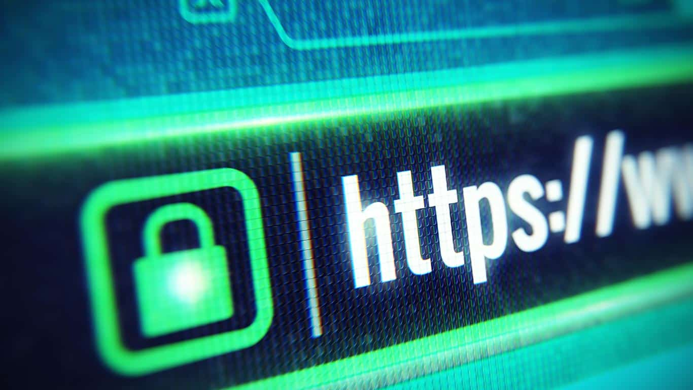Make sure the domain is secure