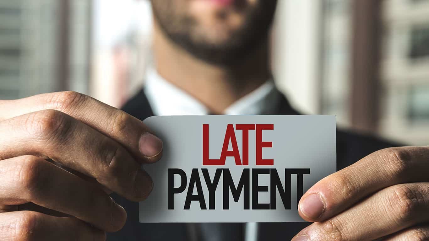 Missed or late payments can lead to collections