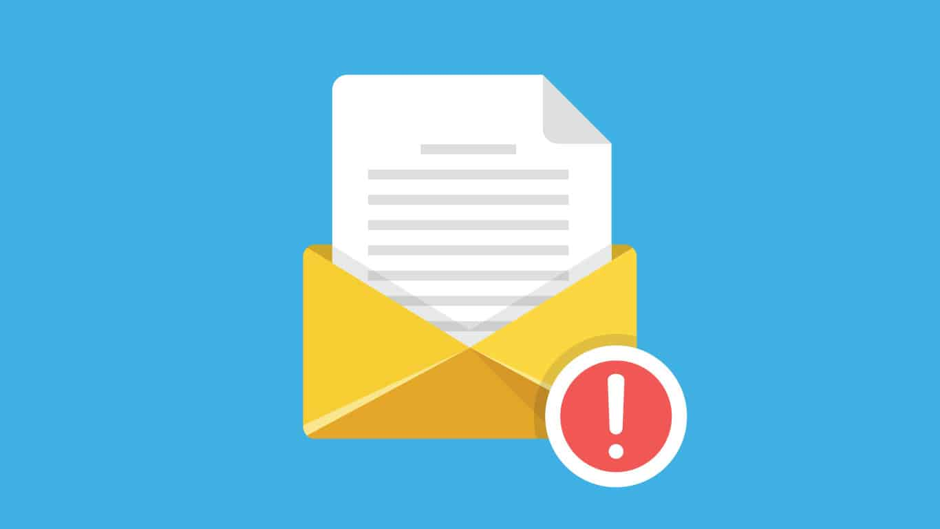 Suspicious emails or social media messages