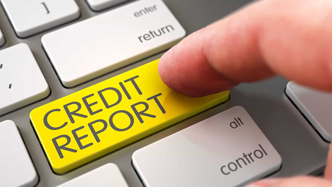 The collection account appears on your credit report
