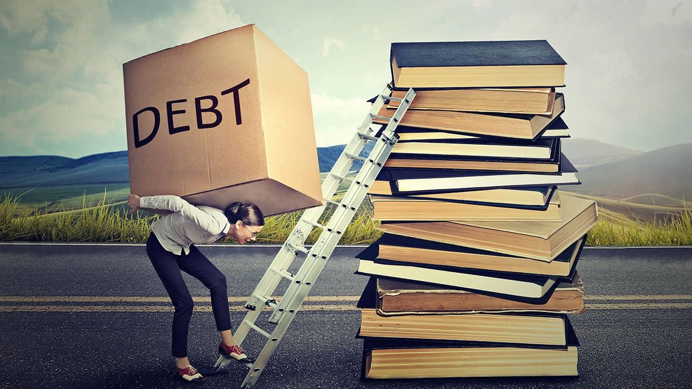 You still owe the debt