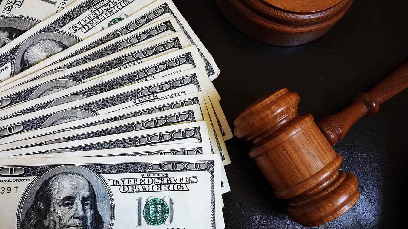 A judge decides your case