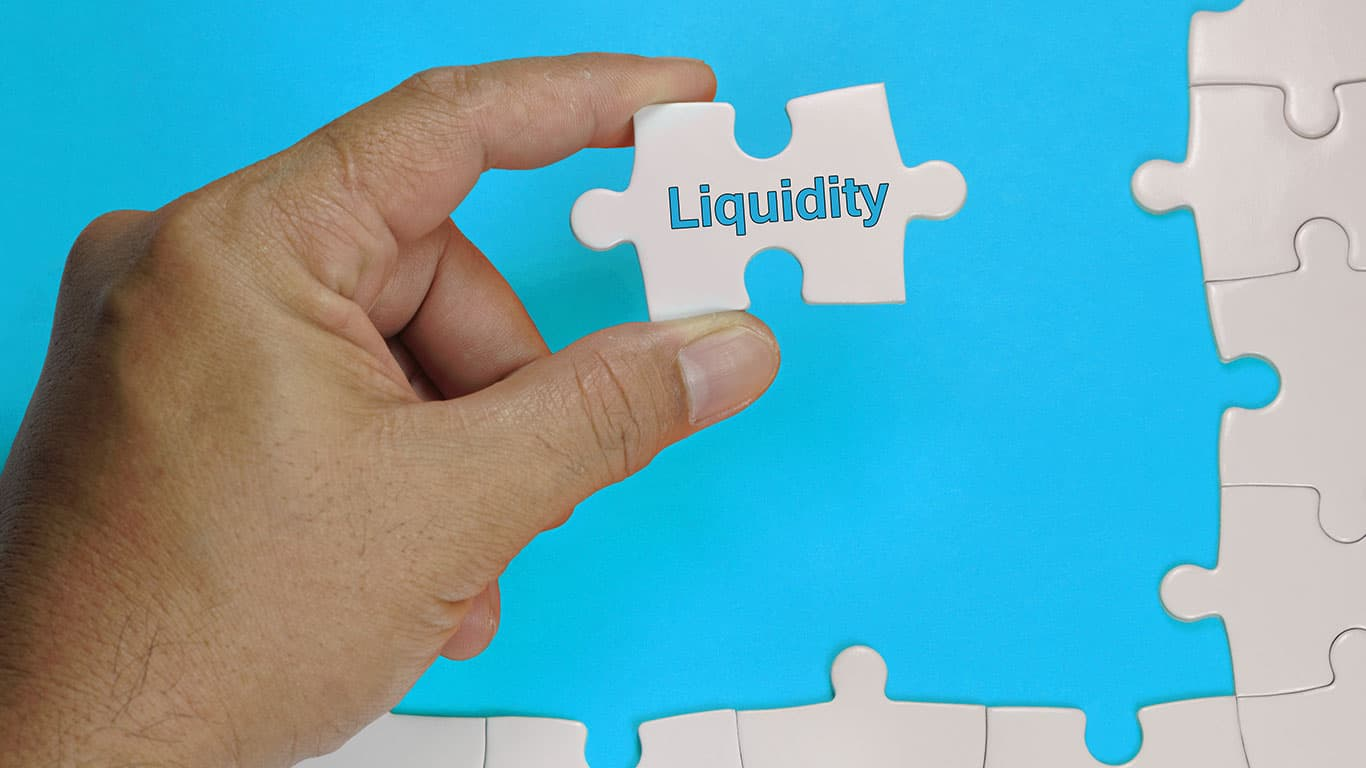 A trustee liquidates assets