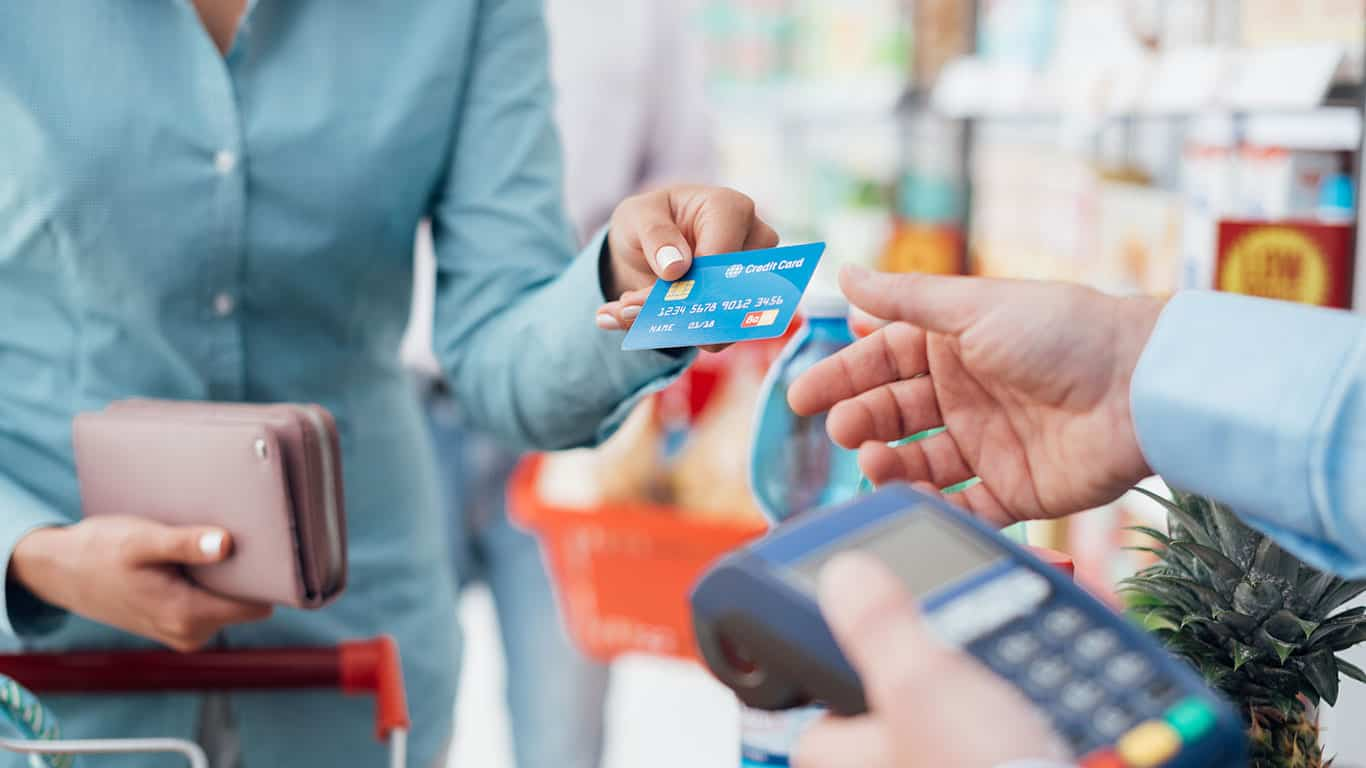 Apply for a retail credit card