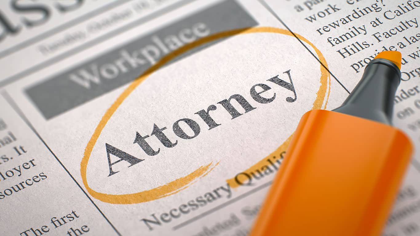 Consider hiring an attorney