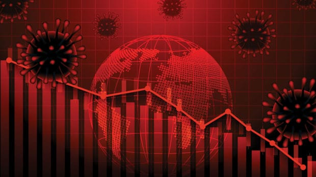 Economic and financial conditions in the global due sinks the global stock exchanges.