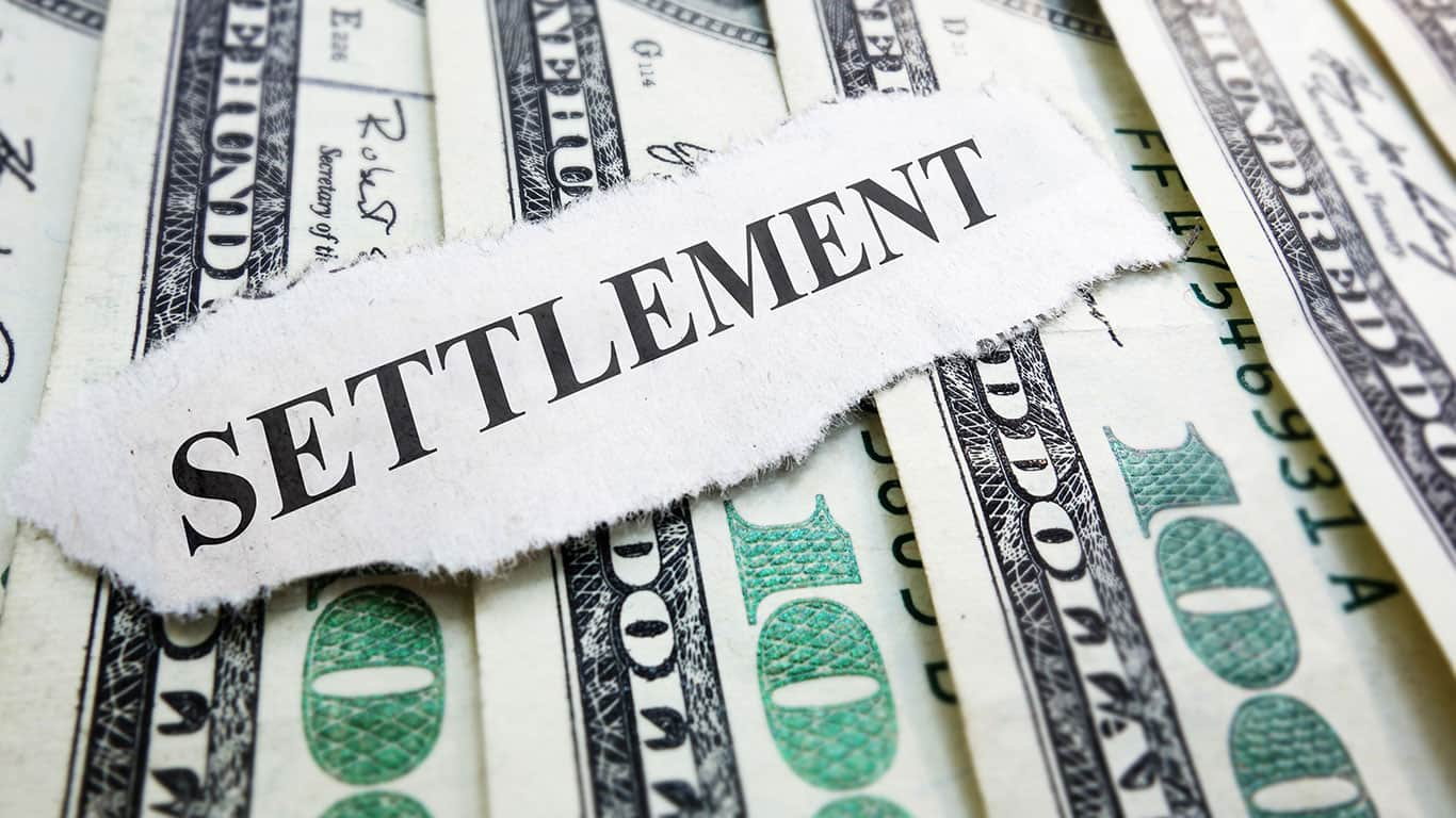 You can negotiate a lower lump sum settlement