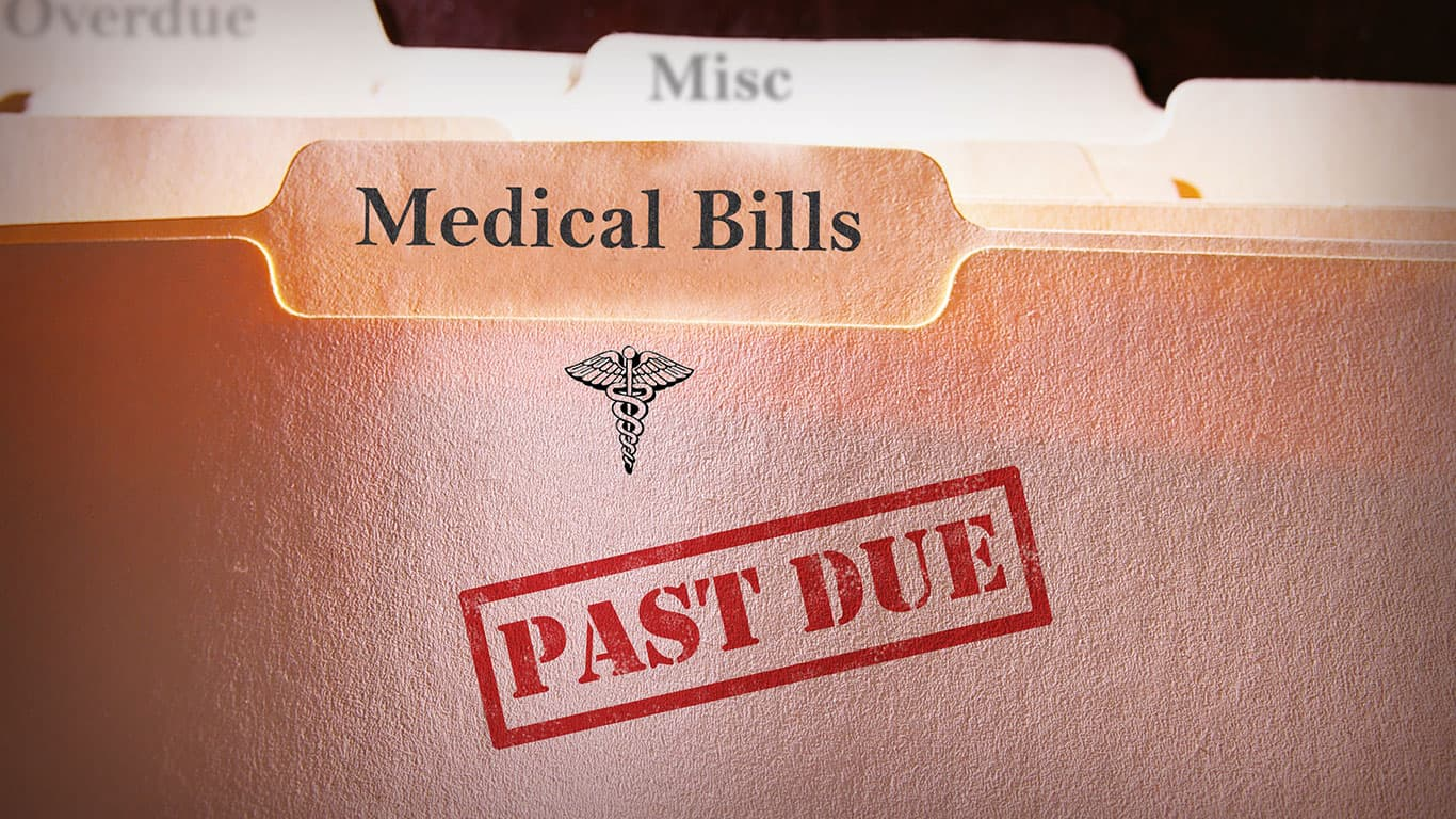 You could come up with a solution to your medical debt