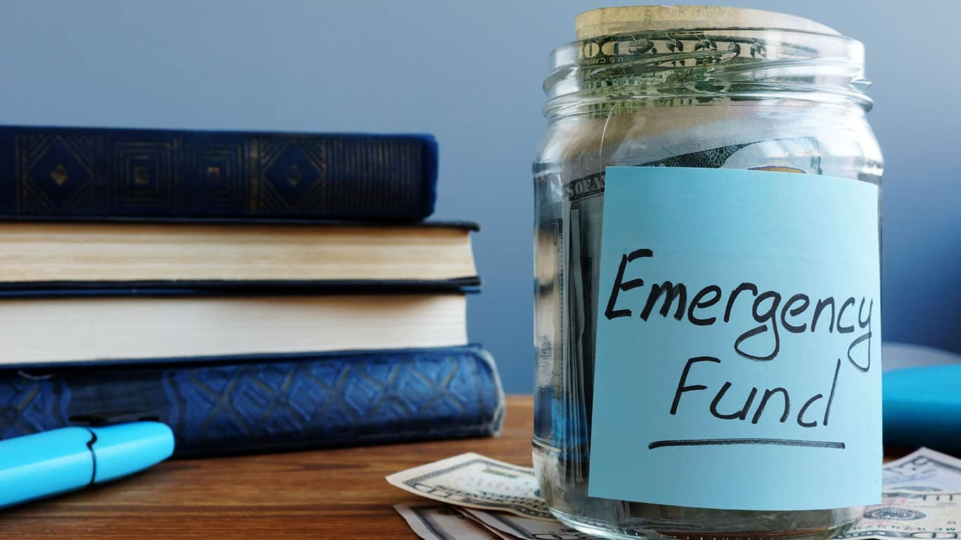 You have no emergency savings