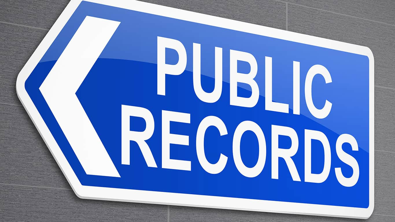 Your bankruptcy will become public record