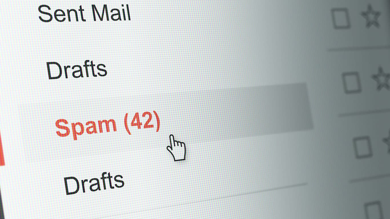 Be suspicious of unsolicited emails