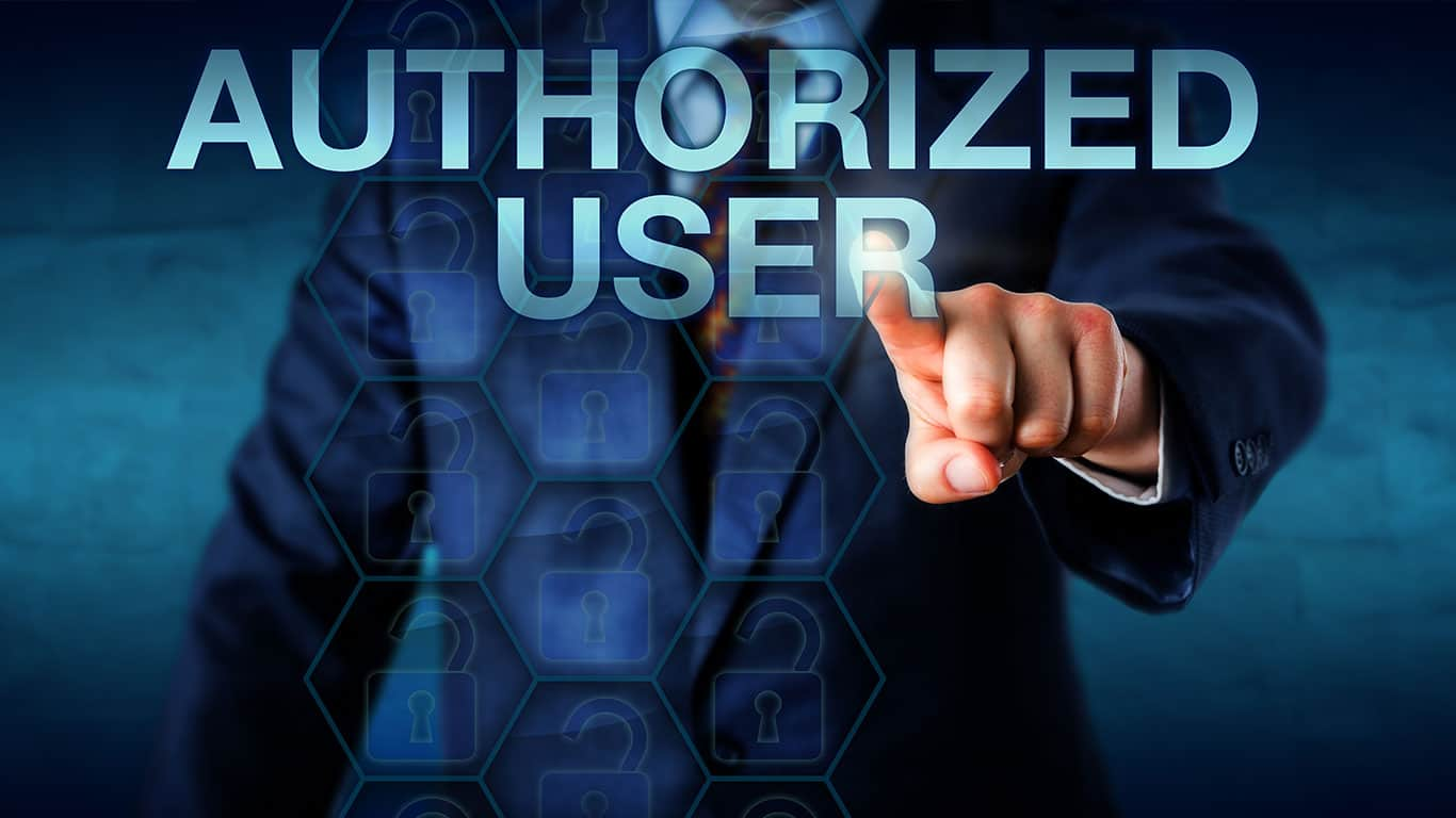 Become an authorized user