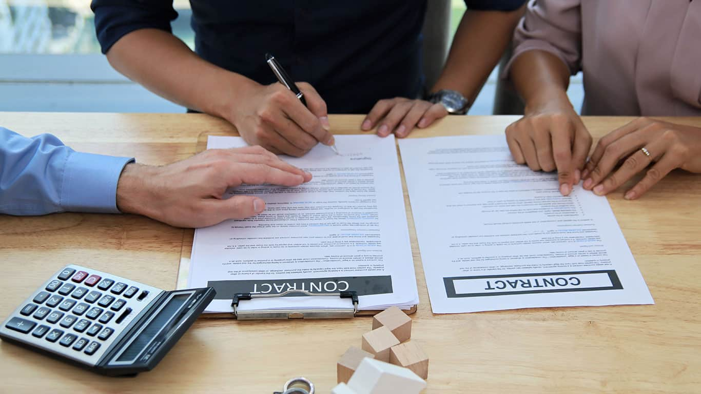 Get a co-signer on a loan