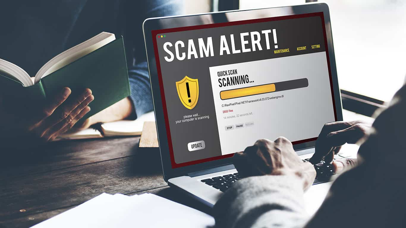 Search for the charity's scam victims online