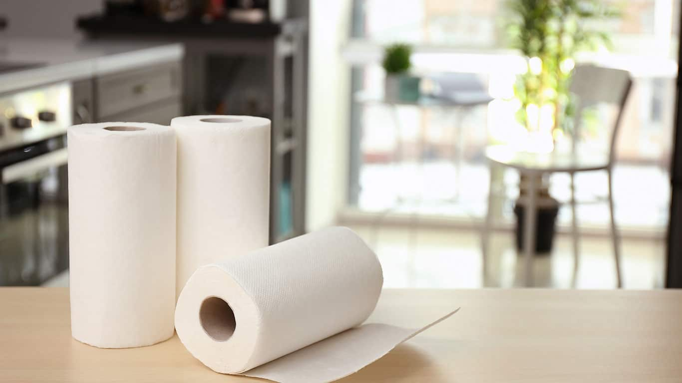 Wiping up savings with cheap paper towels