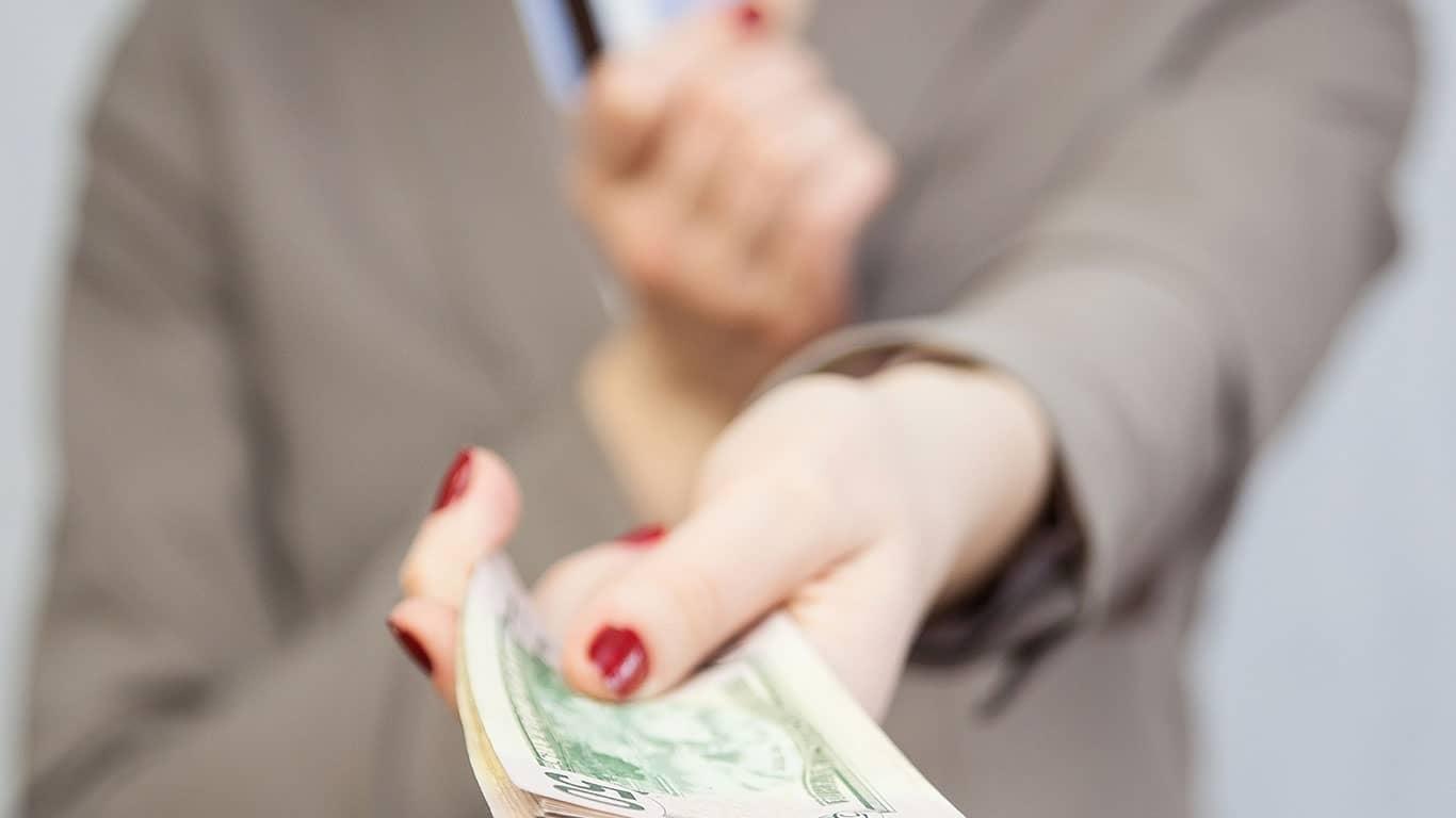 You'll pay a cash advance fee