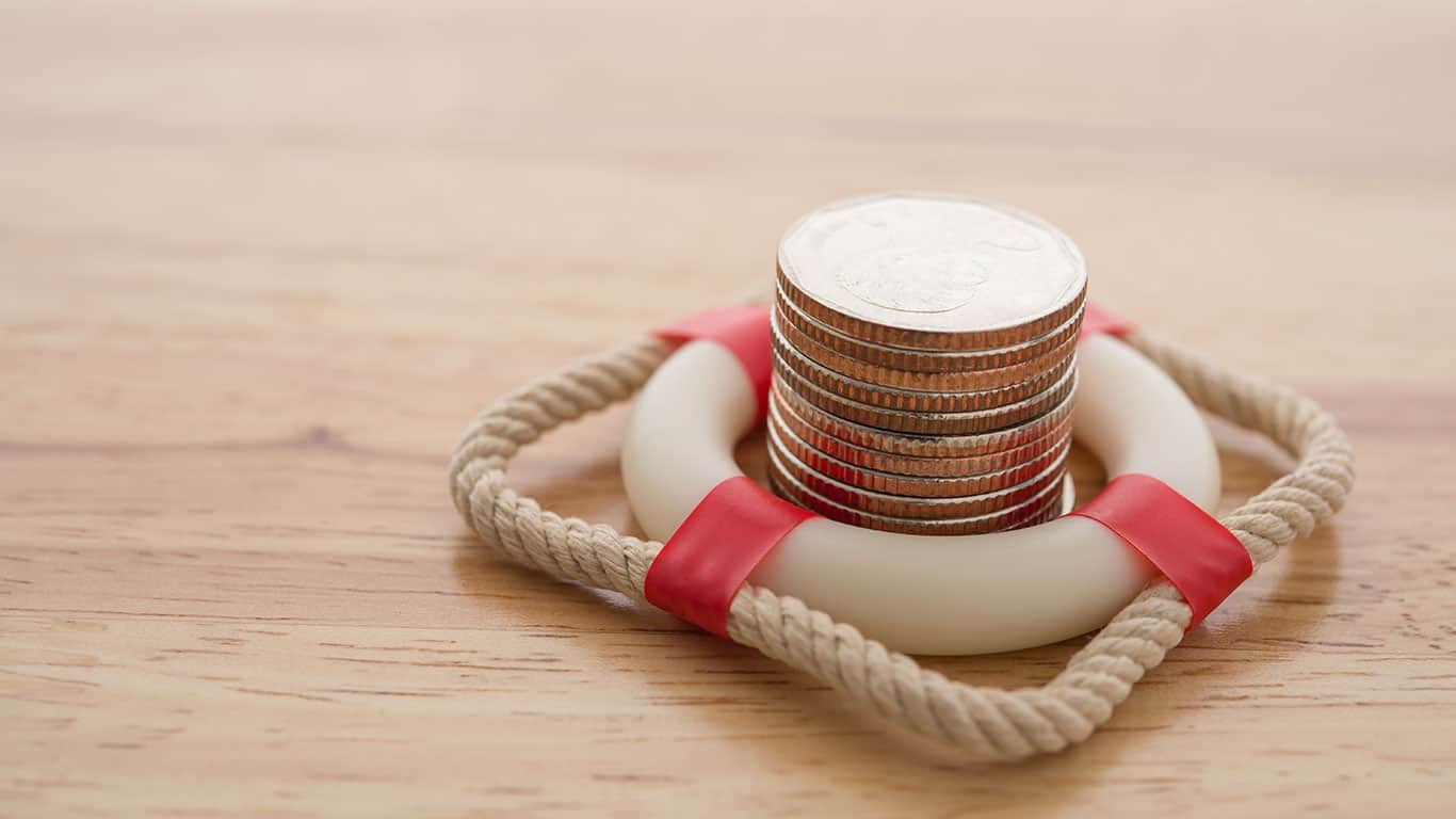 Your savings covers only the smallest emergencies