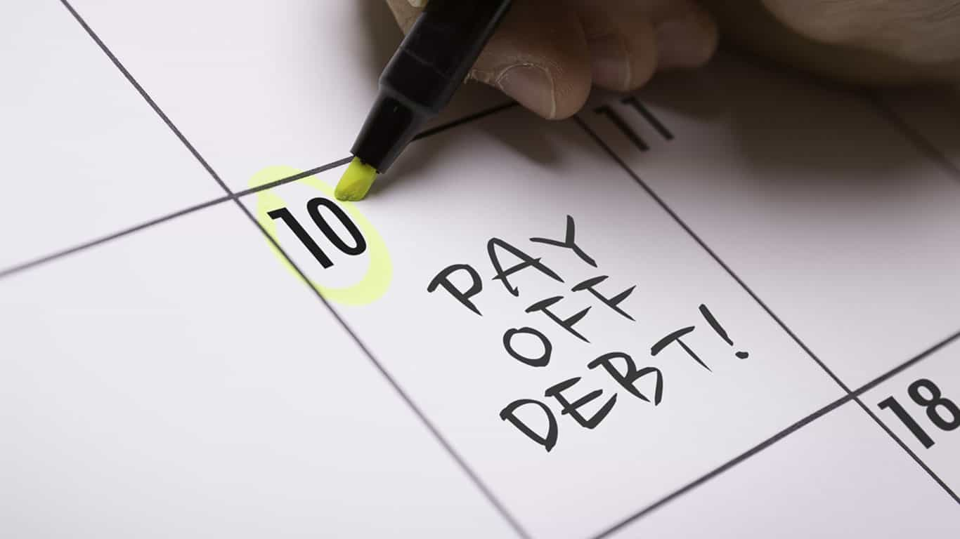You've completed a debt repayment plan
