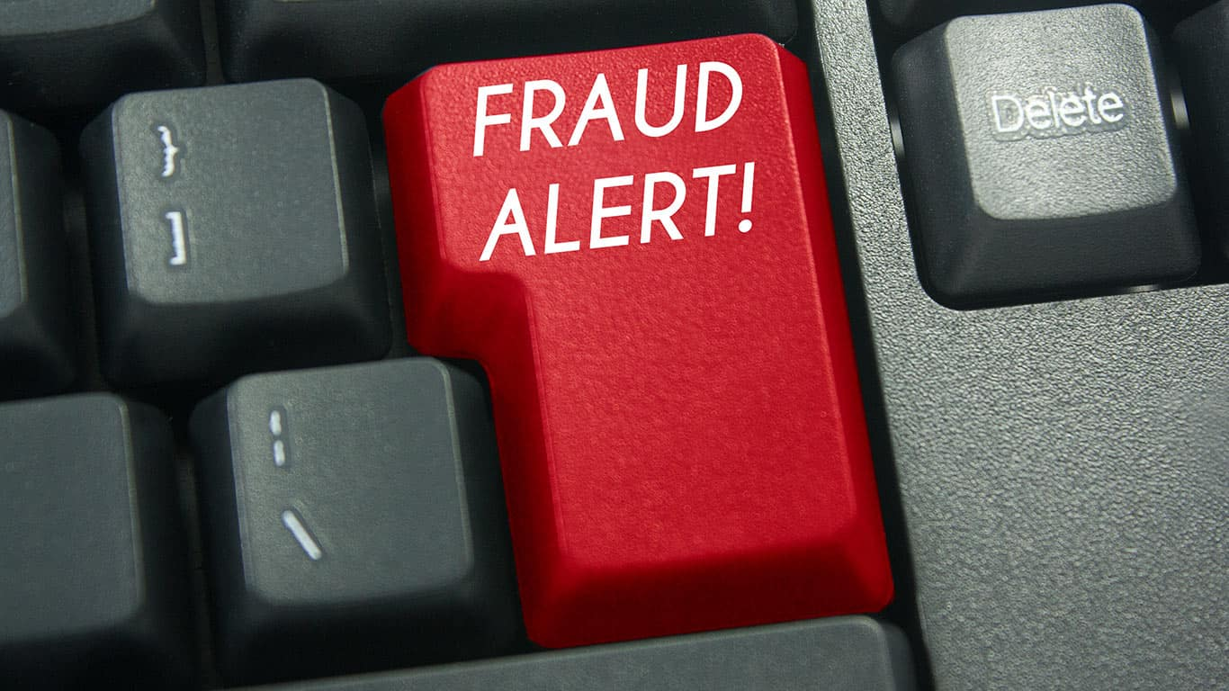 A fraud alert won't affect your credit score