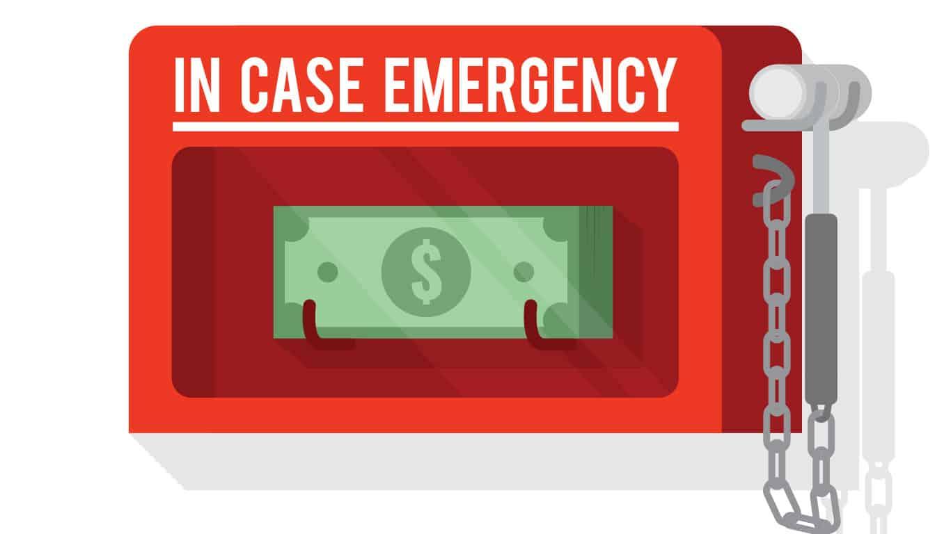 Increase emergency savings